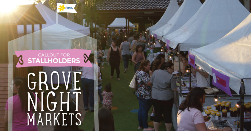 Grove Night Markets Stallholders Wanted